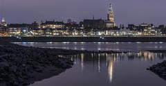 Nijmegen, Panorama vanaf Lent (Jan Sluijter) Tags: nijmegen gelderland holland visitholland city cityscape nederland sintstevenskerk panorama lent