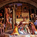 Rome - Vatican Museum Raphael - The Burning of the Borgo