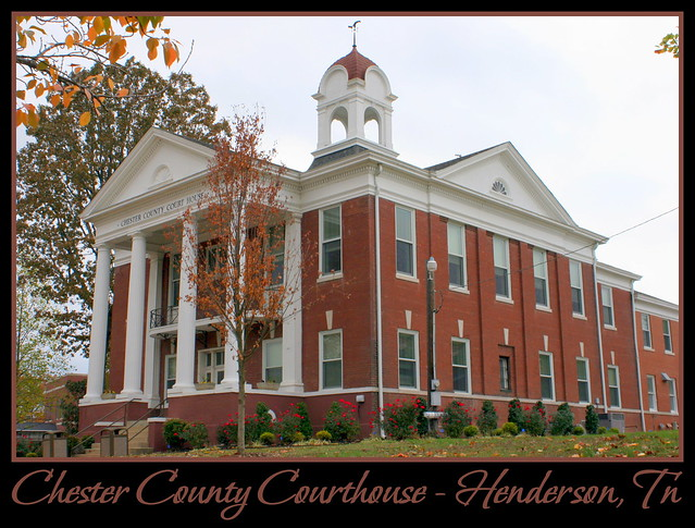 For Sale: TN Courthouse Postcard Collection: Chester