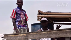 African young rebel (yagisu) Tags: child documentary soldiers warrior warriors congo obama usaflag childsoldier obamatshirt africanrebel