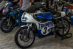Trident 930 @ Goodwood Festival of Speed 2015 (Photo Quintessence) Tags: uk summer england classic cars car bike june festival speed canon eos westsussex hill racing nascar triumph motor dslr fos motorracing goodwood hillclimb 930 percy trident festivalofspeed 2015 goodwoodfestivalofspeed goodwoodfos 1dx canon1dx fos2015 brianeatham trident930