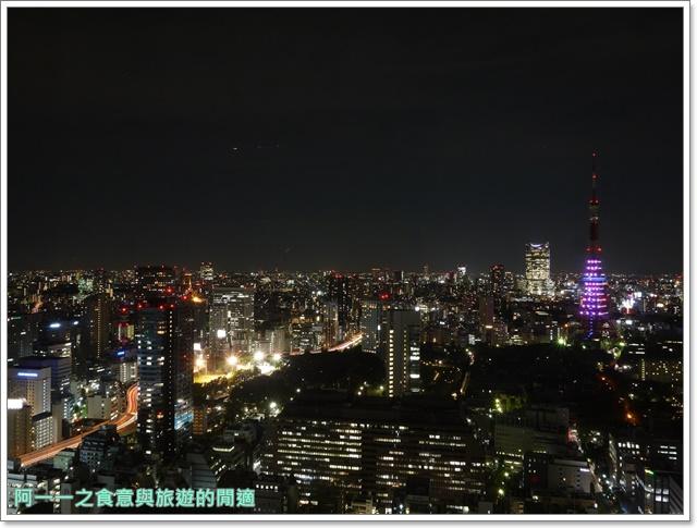 東京景點夜景世界貿易大樓40樓瞭望台seasidetop東京鐵塔image030