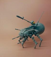 Deathwalker IV (V2) (SuperHardcoreDave) Tags: spider tank lego walker fantasy weapon future scifi mecha mech moc