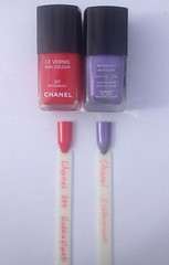 Chanel 377 Enthusiast and Iridescent bought in Australia (smeyankazmejka) Tags: iridescent nailpolish chanel chanel377enthusiast