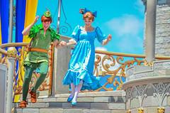 Dream along with Mickey (EverythingDisney) Tags: peterpan disneyworld wdw waltdisneyworld wendy magickingdom castleparty dawm wendydarling dreamalongwithmickey