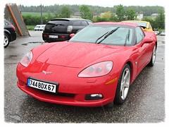 Chevrolet Corvette C6 (v8dub) Tags: auto 6 chevrolet car schweiz switzerland automobile suisse live c automotive voiture chevy american corvette wagen luterbach pkw worldcars
