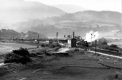 Barmouth Junction 1948 (robmcrorie) Tags: barmouth junction 1948 dukedog gwr steam train rail railway british railfan monochrome