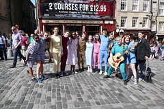 Edinburgh Fringe Festival 2015 (29) (Royan@Flickr) Tags: street costumes festival actors high edinburgh royal fringe entertainment acting singers performers mile 2015 20150806
