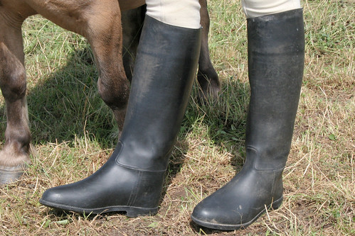 Rubber riding boots - a photo on Flickriver