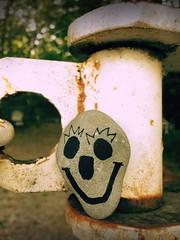 Day 215 of 365 - Smiley Ohhhh (sluggoman) Tags: smile stone hiking day215 365days smileproject 365daysproject smilestone httpbitlysmile2015