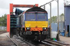 66302-KM-18072015-1 (RailwayScene) Tags: carlisle class66 drs kingmoor directrailservices 66302