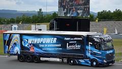 TGP 2016 - Truck Korso am Sonntag (BonsaiTruck) Tags: lenicker windpower mb actros lkw lastwagen lastzug truck trucks lorry lorries camion eifel nürburgring grandprix festival