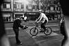 Santiago de Chile (Alejandro Bonilla) Tags: santiago chile street city urban bw black white fotografo manuelvenegas monocromo monocromatico bicicleta bibicleta bicycle bicicletas blancoynegro bn blackandwhite blanconegro