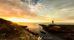 DIU_38 (jpmfotografianocturna) Tags: ribadeo islapancha atardecer estaesgalicia lugo nikon tokina landscapes faroislapancha paisajes panoramica luznatural mar sea faro puestadesol fugadenubes