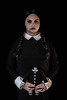 wizard world comic con. august 2016 (timp37) Tags: nat nathalie wizard world comic con august 2016 chicago illinois rosemont wednesday addams conlife cosplayer
