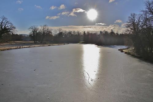 Winter im Park Schönbusch