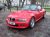 BMW Z3 Roadster R45JNV (Andrew 2.8i) Tags: queen queens classics cars square bristol classic car meet show breakfast club bmw z3 roadster 28 german sports sportscar open convertable cabriolet all types transport youngtimer oldtimer red redcar