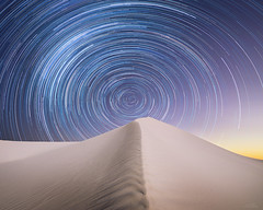 Sands of time (Jay Daley) Tags: startrail stars sanddune nsw australia mungo sony a7rll