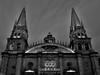 Catedral de Guadalajara. (Roberto Puga) Tags: catedraldeguadalajara guadalajara catedral largaexposicion longexposure jalisco zapopan blancoynegro blackwhite blackandwhite bw