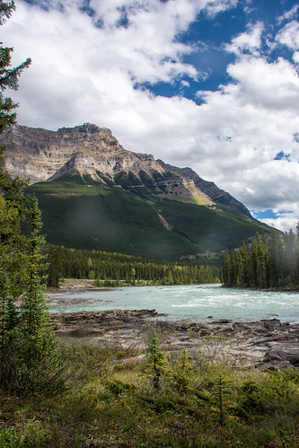 Icefields Parkway - Athabasca Falls