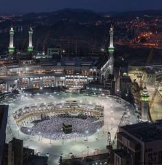 Holy Kaaba (Hany Mahmoud) Tags: kaaba mecca ksa saudi arabia islam muslims prayers prayer mosque ramadan night architecture medina saudiarabia faith birdview landscape cityscape mekah crowd pilgrimage travel explore