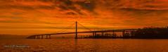 Oakland-San Francisco Bay Bridge Sunrise... (markarlilly) Tags: oakland sanfrancisco baybridge alameda marin bridge zeiss otus sunset portofoakland eastbay distagonotus5514zf