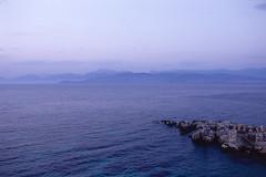 kodak e100vs sunset colors №1 (Yuree M) Tags: corfu greece sigma 35 14 a epson v700 kodak e100vs sunset colors sea autaut