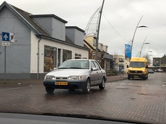 1991 Ford Sierra (ZN-57-FH) (Bas Juk) Tags: 1991 ford sierra zn57fh hoogkerk groningen carspot carspotting car cars auto