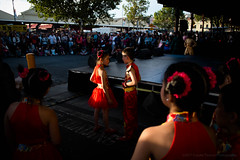 Chinese New Year 2017 - Queen Victoria Market, Melbourne (- yt -) Tags: cny cny2017 chinesenewyear fujifilm queenvictoriamarket dancing nightmarket performance xe1