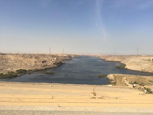 Nile River at Aswan High Dam