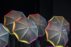 Dancing Umbrellas (Rudi Pauwels) Tags: colors göteborg dance nikon dancing zoom sweden schweden gothenburg liseberg tele sverige nikkor umbrellas 18105mm d7100 nikkor18105mm nikond7100 kulturskolansdag 115picturesin2015 115in2015