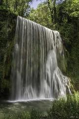Cascada la caprichosa (JaviJ.com) Tags: espaa de la spain zaragoza monasterio catarata cascada piedra aragn caprichosa nuevalos