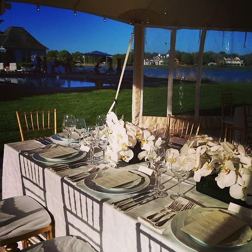 #Hamptons #DinnerWithFriends #dinnerbythepool