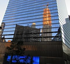 7 World Trade Center (Dan_DC) Tags: reflection downtown financialdistrict wtc wallstreet lowermanhattan 7worldtradecenter glassskyscraper