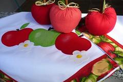 jogo cozinha mas (romelia.artesanatos) Tags: patchwork cozinha apliqu