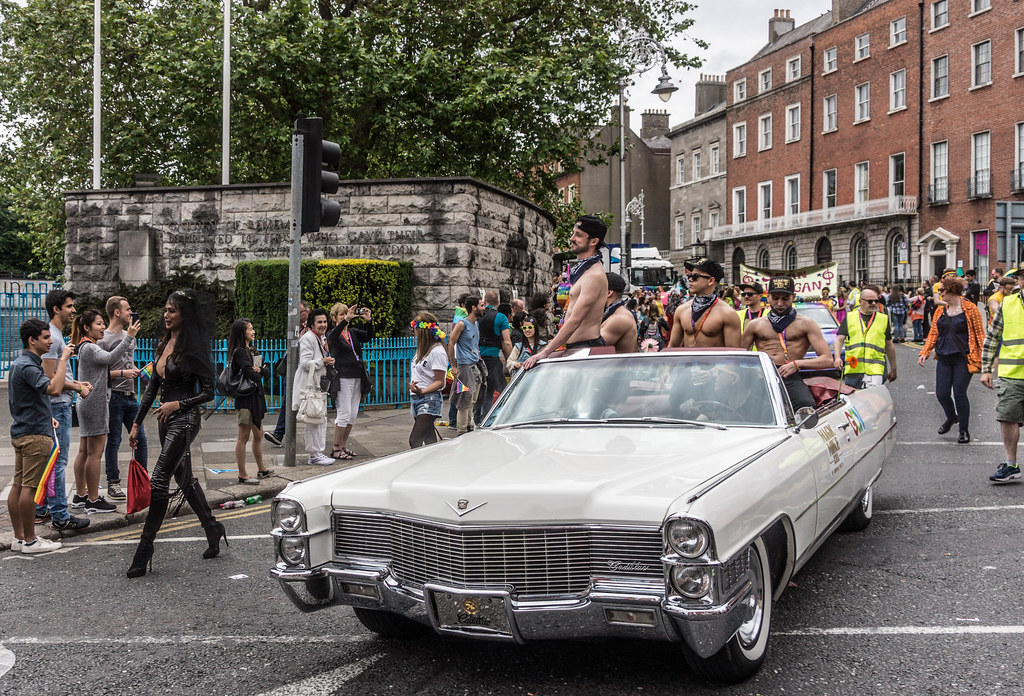 DUBLIN 2015 LGBTQ PRIDE PARADE [THE BIGGEST TO DATE] REF-105952