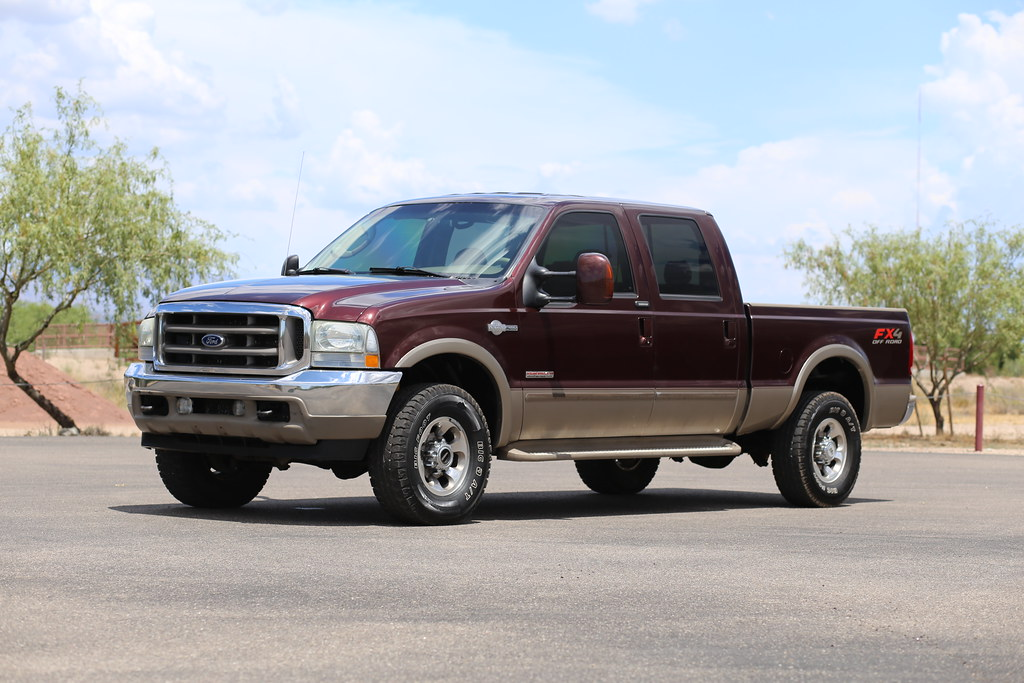 2004 ford f250 king ranch 4x4 diesel truck for sale. Black Bedroom Furniture Sets. Home Design Ideas