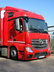 Norbert Dentressangle Mercedes Benz Actros StreamSpace Truck AR 12 LJM (5asideHero) Tags: norbert dentressangle mercedes benz actros truck ar 12 ljm streamspace
