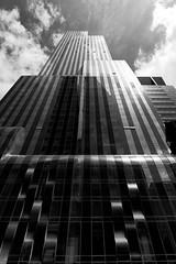 One57 (zsnajorrah) Tags: nyc newyorkcity sky urban blackandwhite usa ny newyork reflection monochrome architecture skyscraper us unitedstates manhattan unitedstatesofamerica midtown explore 7dmarkii ef1635mmf4l