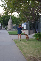"Young Woman & Her Dog • <a style=""font-size:0.8em;"" href=""http://www.flickr.com/photos/45958601@N02/19599144933/"" target=""_blank"">View on Flickr</a>"