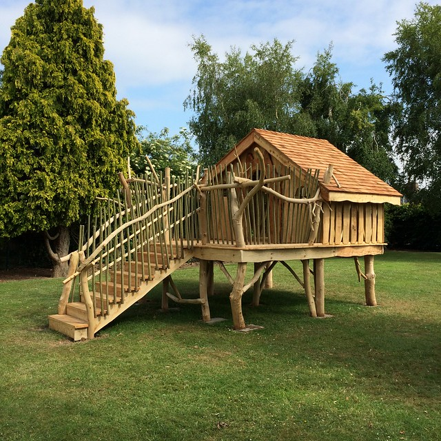 artisan structures tree house play structure