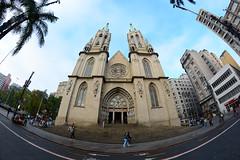 Catedral da Sé (De Santis) Tags: brazil fish eye church arquitetura brasil nikon sãopaulo centro catedral sé fisheye peixe sp igreja olho turismo olhodepeixe d7100 fernandodesantis