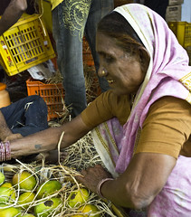 HL8A1450 (deepchi1) Tags: india fruits vegetables market muslim hijab bombay mumbai niqab