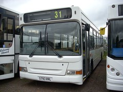 Meridian S793 RRL (quicksilver coaches) Tags: dennis dart slf plaxton pointer meridianbus potterspury s793rrl dawsonrentals olney