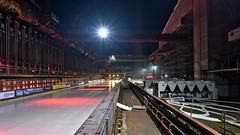 Eisbahn Zeche Zollverein (Devil9797) Tags: nacht industrie beleuchtung zeche zollverein essen hdr eisbahn