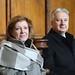 Semjén Zsolt miniszterelnök-helyettes, a Kereszténydemokrata Néppárt elnöke feleségével, Menus Erzsébet Gabriellával