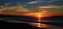Alamitos Bay, Sunrise--in explore (beachpeepsrus) Tags: shore sky sunrise seagull alamitosbay clouds color beach coast whiteisland