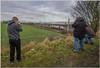 Three Photters Photting (Terry 47401) Tags: 67029 royal train locomotive diamond 6f47 wigna arpley winwick spotters photographers railway west coast main line
