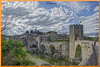 Besalú con su  puente (ferlancor) Tags: puente bridge arquitectura medieval reflejos