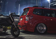 Bagged Forester (Justin Young Photography) Tags: cars manila philippines stancepilipinasmanilafitted subaru forester sh airsuspension bagged
